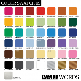 Request Color Swatch
