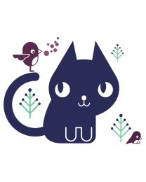 Bleu the Cat - Outdoor