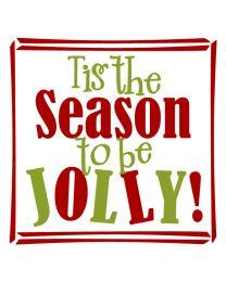 Season to be Jolly!