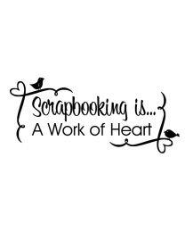 Scrapbooking is...
