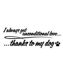 Thanks to My Dog
