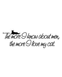 The More I Love My Cat