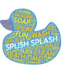 Rubber Duck Word Cloud