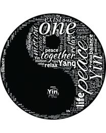 Yin Yang Word Cloud